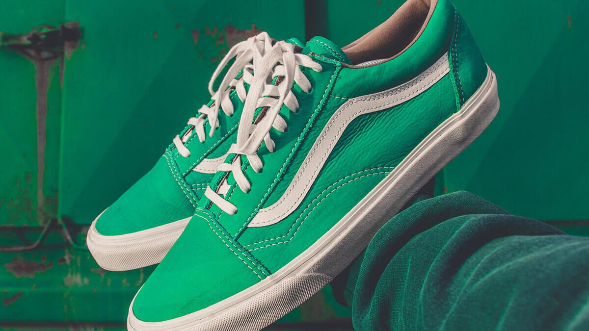 Pair Of Green Sneakers, Style Mistake Or Victory?