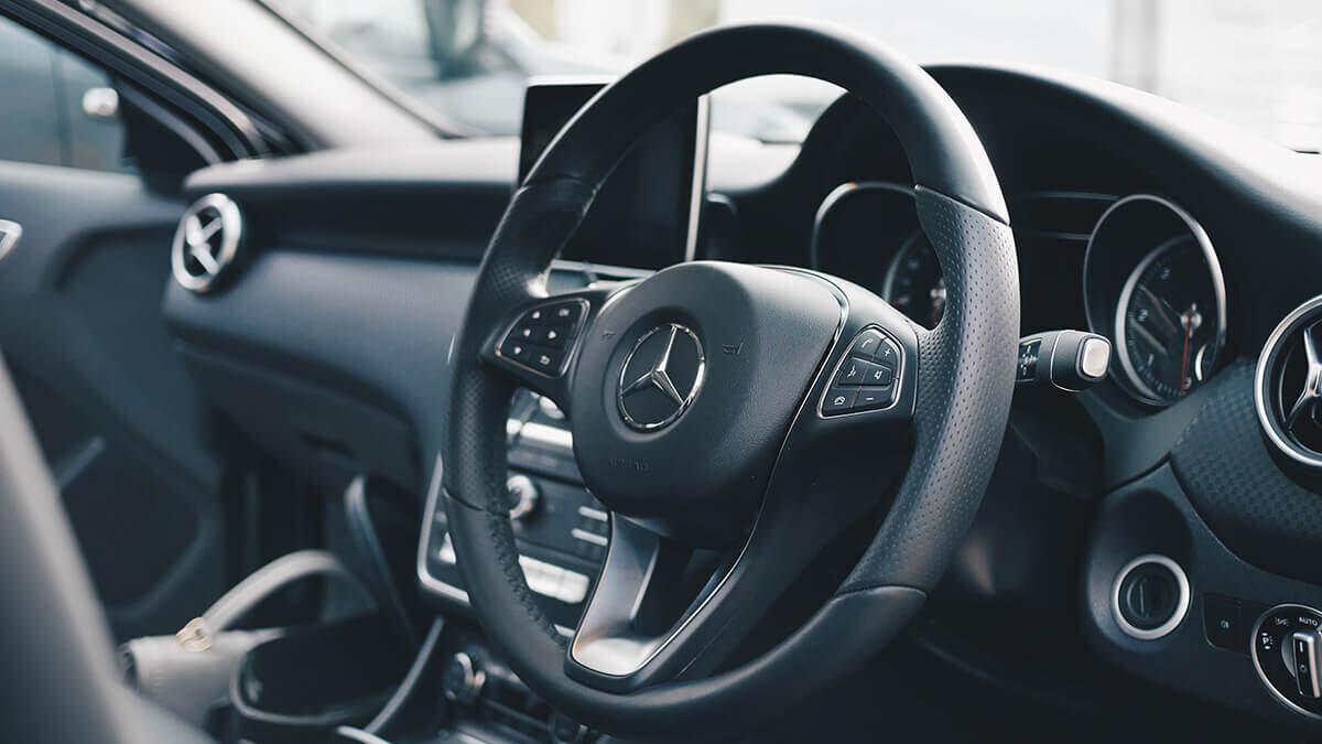 Sneak Peak Of Mercedes Benz Interior Update in C-class Sedans