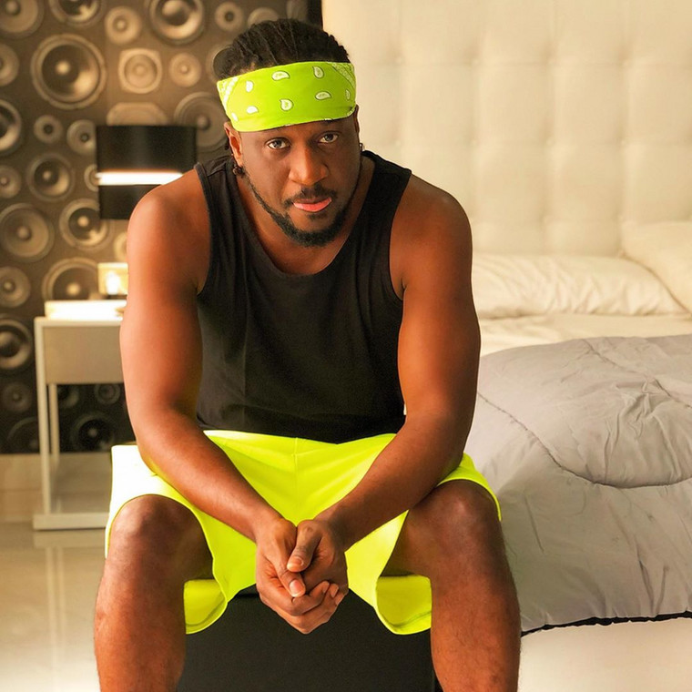 One of the defunct music group psquare shares a photo of his mansion