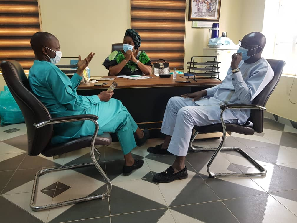 Fanwo, Kogi Information commissioner commends Kwara counterpart, charges her on State owned media houses