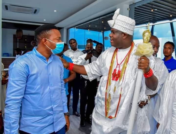 Ooni of Ife celebrates Kwara born 'Son', Kehinde Bankole