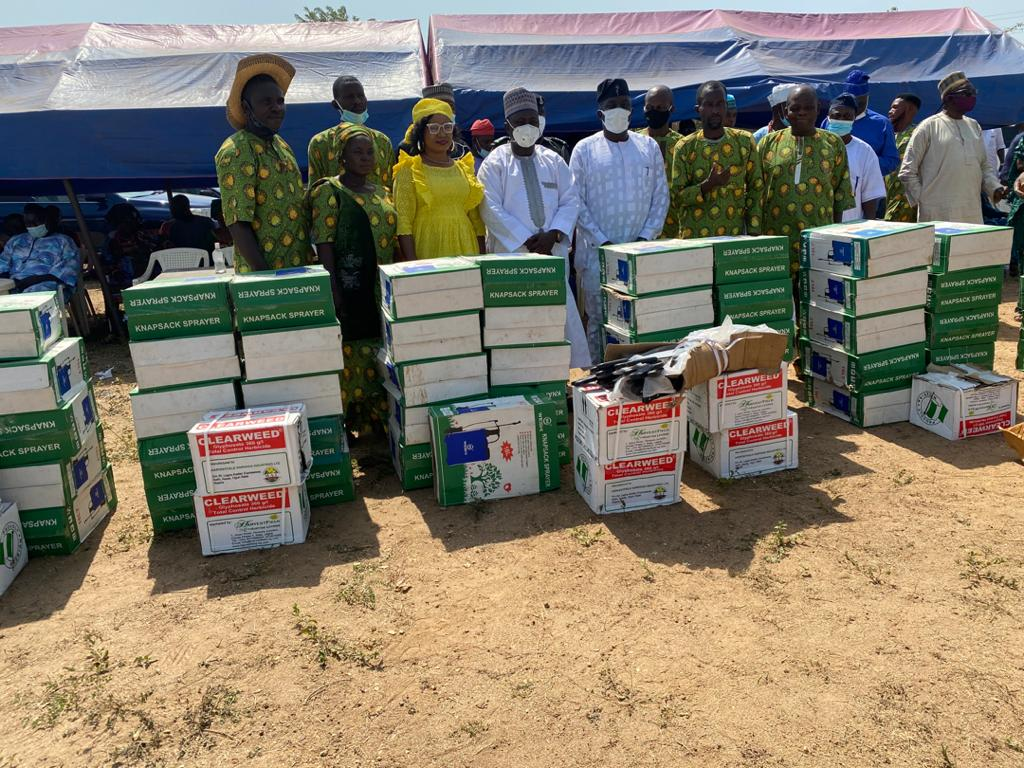 Kwara Health Commissioner doles out #2m empowerment for Ekiti youth farmers