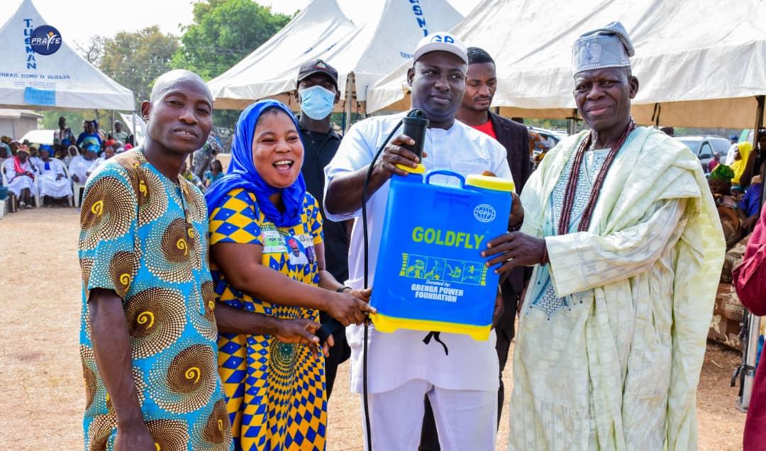 Gbenga Power foundation Empowers Kwara Communities