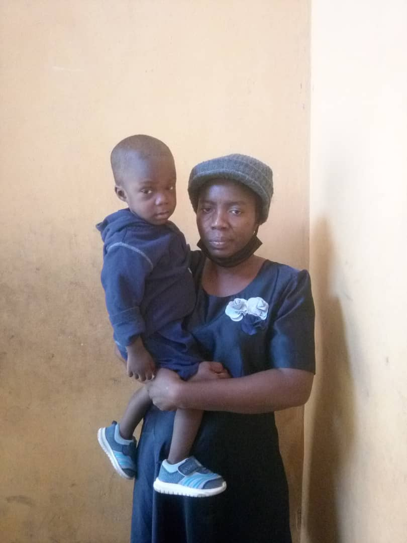 How Kwara NSCDC Detained my one year old son overnight- woman cries out