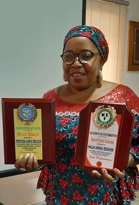 Ilorin born princess bags awards of excellence in Abuja