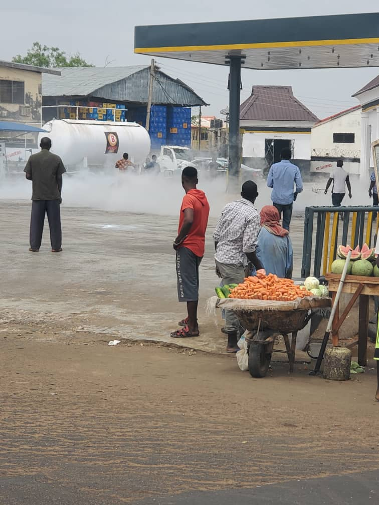 Scores feared injured, as gas explosion rocks Ilorin popular filling station