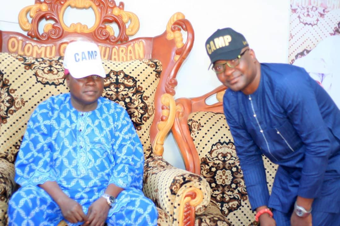 Kwara 2023: Olomu of Omu-Aran endorses continuity agenda, as Dallas inaugurates CAMP team