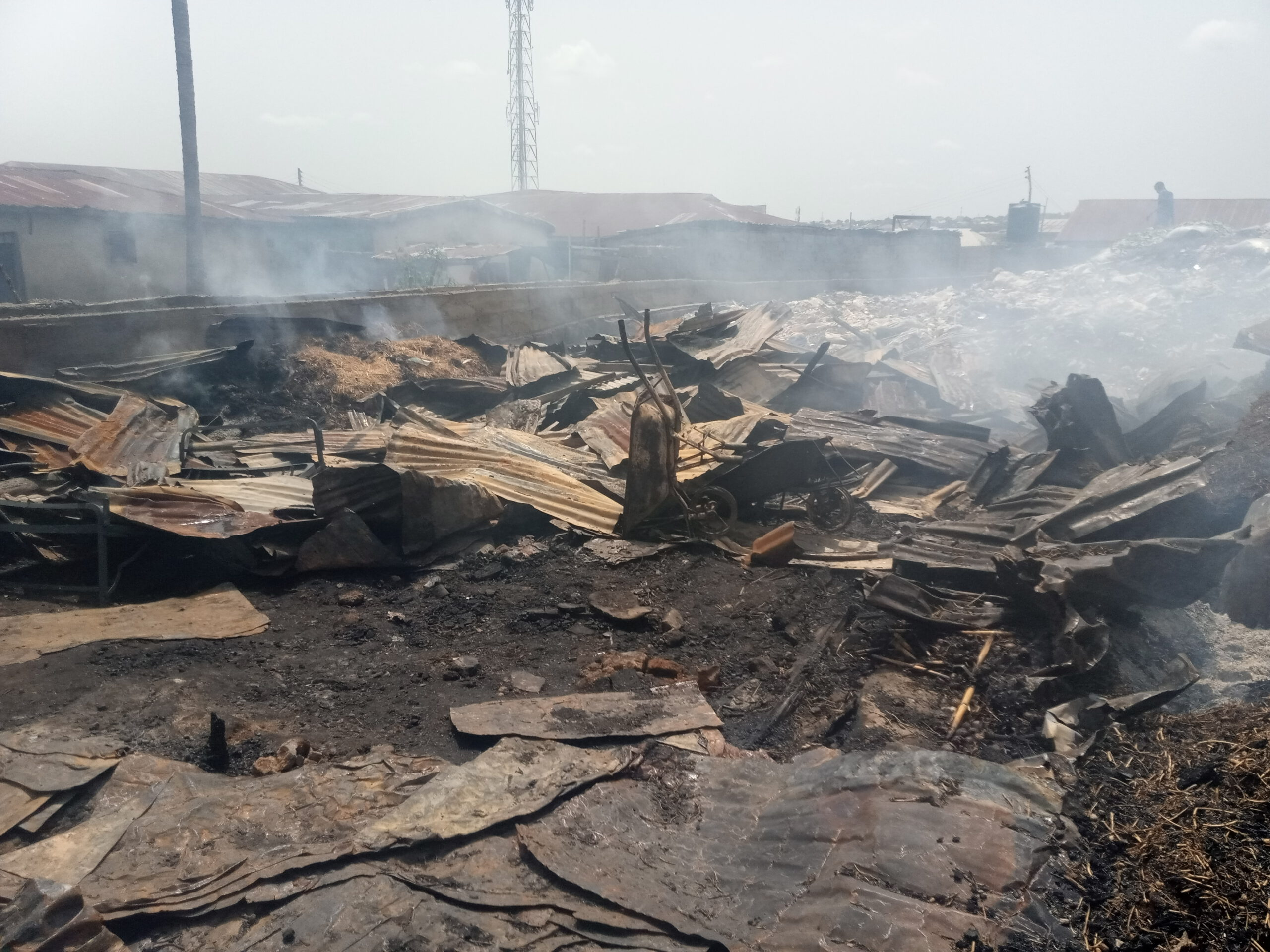 Ipata: More than #20m lost to inferno, as traders count losses