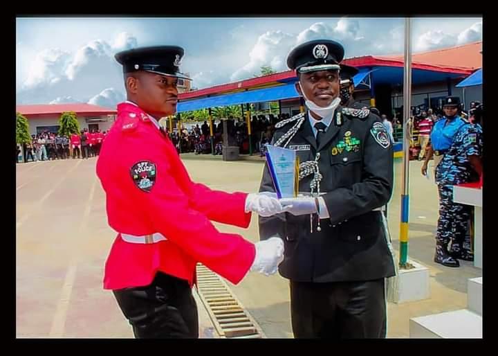 Kwara born Bankole bags 6 awards as Police graduate Spy enrollees